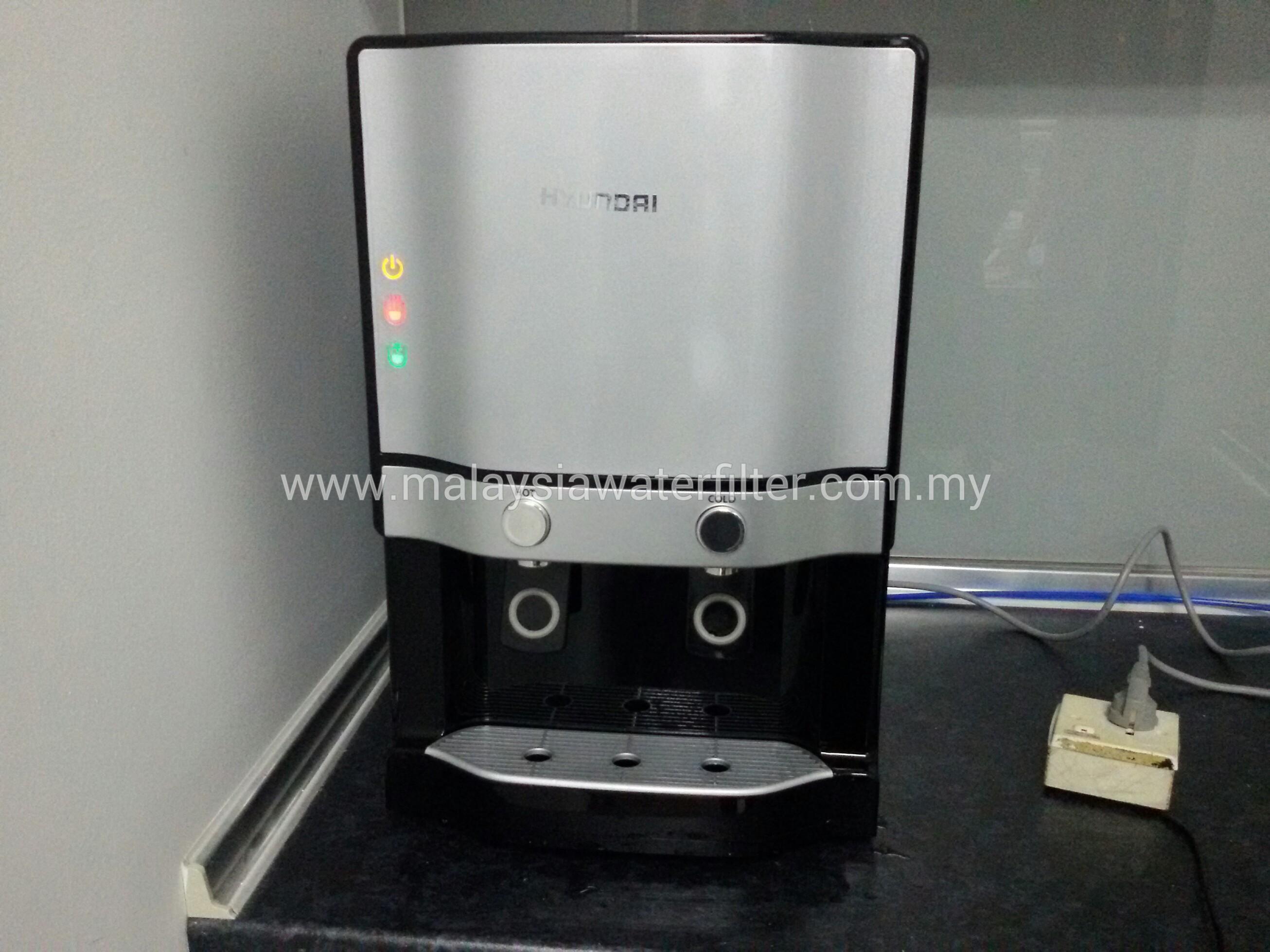 Water Filtration Dispenser Installation Case 4 Weguard Hyundai Pts 2001 Hot Cold Water